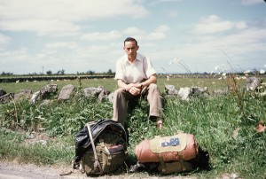 Backpacking circa 1955 in Ireland