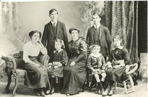 The Halleren Family in Belfast, Ireland, circa 1910