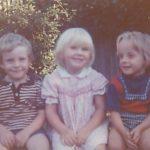 Gregory, Ainsley & Rosemary at Nana's