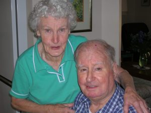 Aunty Nancy & Uncle Alan Sporton, Feb 2006