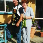 Neville & Toni, Feb 2002 at his 50th birthday